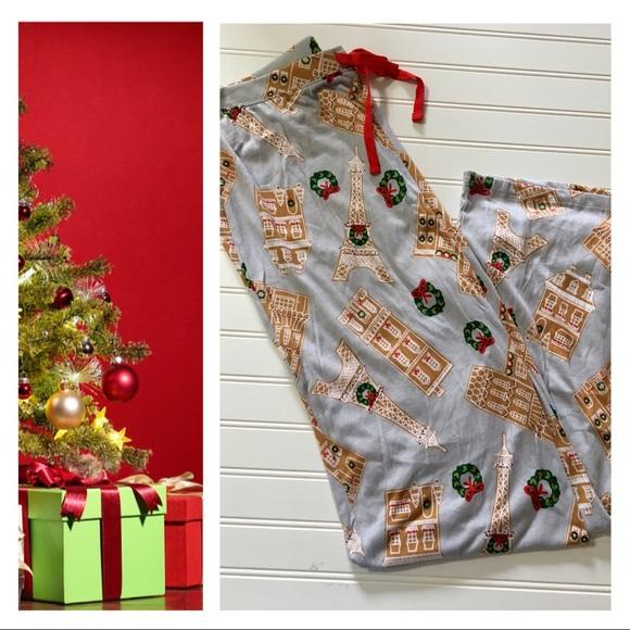 f5f4ff45b4 Cynthia Rowley Other - Cynthia Rowley Christmas Pajama Pants